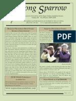 Winter 2009-2010 Song Sparrow Newsletter, Napa-Solano Audubon Society