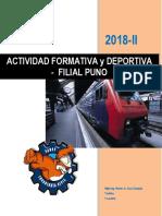 Libro de Actividad Formativa y Deportiva.
