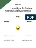 Note de Synthèse BTS IG TS1IN (1ère année, tronc commun) Baptiste Lopez