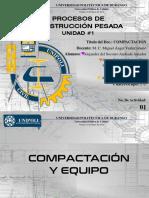 Procesos de Construcción Pesada 01 Compactación