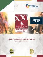 Don Quijote Nos Invita Primaria Cuentos