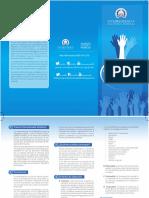 Brochure 6to. Premio Voluntariado Solidario