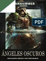 Codex Ángeles Oscuros Warhammer Profanus 2017