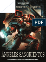 Codex Ángeles Sangrientos Warhammer Profanus 2017