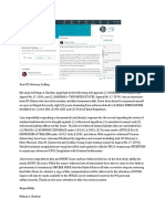 HARIHAR uses LINKEDIN to reach US Attorney Andrew Lelling (MA) RE