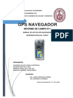 Manual de Uso de GPS Navegador