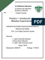 Practica 1 Introducción a Los Métodos Experimentales