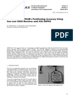 Evaluation of RTKLIB's Positioning Accuracy Using low-cost GNSS Receiver and ASG-EUPOS.pdf