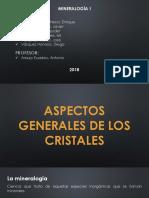 Aspectos Generales de Los Cristales