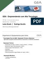 GEA - Empreendendo com alta tecnologia