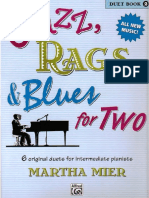 Jazz, Rags & Blues for TWO - Duet Book 2