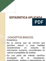 Conceptos Basicos y Estadistica Descriptiva I 2017