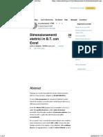 Dimensionamenti elettrici in B.T. con Excel - ElectroYou.pdf