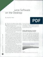 Desktop Open Source