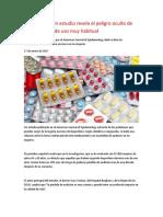 Ibuprofeno ; Un Estudio Revela El Peligro Oculto de Un Analgésico de Uso Muy Habitual