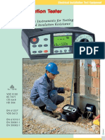 MI 2088 Earth Insulation Tester