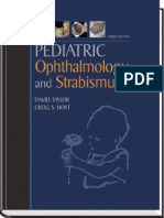Pediatric Ophthalmology and Strabismus - David Taylor