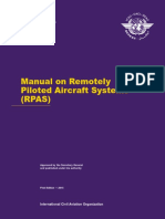 Icao Doc 10019 Manual on Rpas