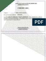 Certificados - Horas Lect