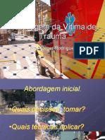 Abordagem Ao Trauma - APH - Urgência e Emergência