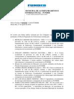 Ofício Cacs Fundeb 035 Sme 2018