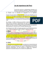 Colegio de Ingenieros Del Perú Xd c Mamo
