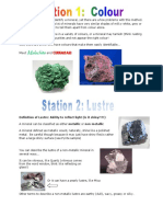 1- mineral id stations