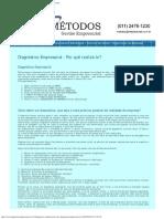 Diagnóstico Empresarial - Glossário Métodos de Consultoria Empresarial