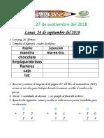 Tareas 1° Del 24 al 27 de septiembre 2018-converted