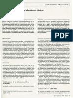 Historia y Evolucion de Los Laboratorios Clinicos
