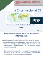 Aula 1- Econmiainternacional_II