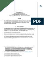 Stellungnahme Zu Den Dokumenten Des Unity Oversight Committee