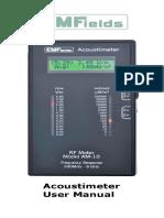 Acoustimeter Manual v5rev3