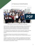 07-09-2018-Certifica Icatson a 37 alumnos en Control Numérico Computarizado - OpinionSonora