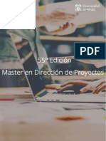 Master en Direccion de Proyectos 55 Edicion