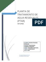 Planta de Tratamiento de Agua Residuales