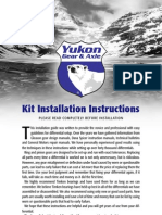 Installation Kit Instructions