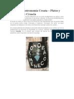 Cocina y Gastronomía Croata.doc