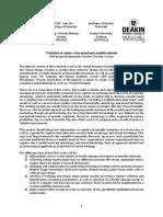 PhD UBS Deakin
