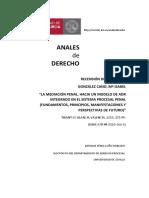 La Mediacion Penal Hacia Un Modelo de ADR Integrado