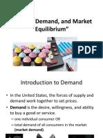 Supply Demand Facil