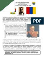 Guía República de La Nueva Granada 1830