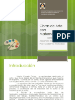 Obras de Arte Con Matemática.