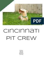 cincinnati pit crew