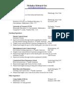 Resume 2010