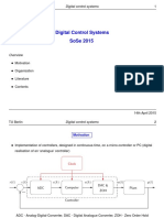 Digital Control Systems (2015)