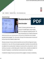 Structure-borne Sound - ACT
