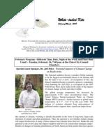 February 2008 White Tailed Kite Newsletter, Altacal Audubon Society