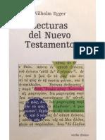 261726987 Egger Lecturas Del Nuevo Testamento PDF Copia