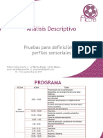 Analisis Descriptivo. Sept 10 y 11 de 2015